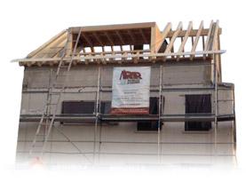 Holzbau am Dach - Meisterbetrieb