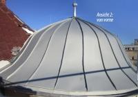 Dachkuppe nachher